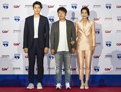 '제22회 부천국제판타스틱영화제(BIFAN)' 개막, 레드카펫 밟은 배우 김주령